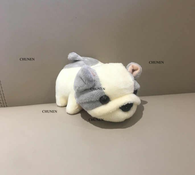 2 צבעים-חדש כלב בפלאש ממולא צעצוע בובת חיה, 11CM כלב איור בובת Keychain בפלאש צעצוע