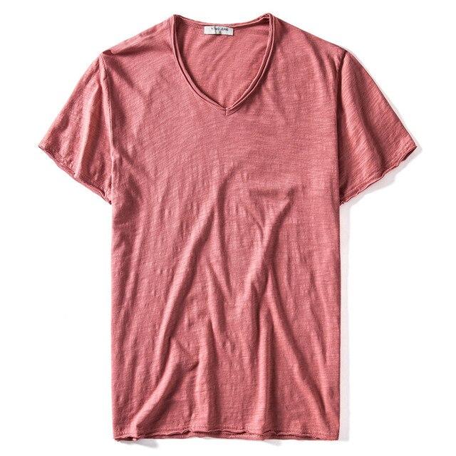 Slim Fit Pure Cotton T-shirt 6