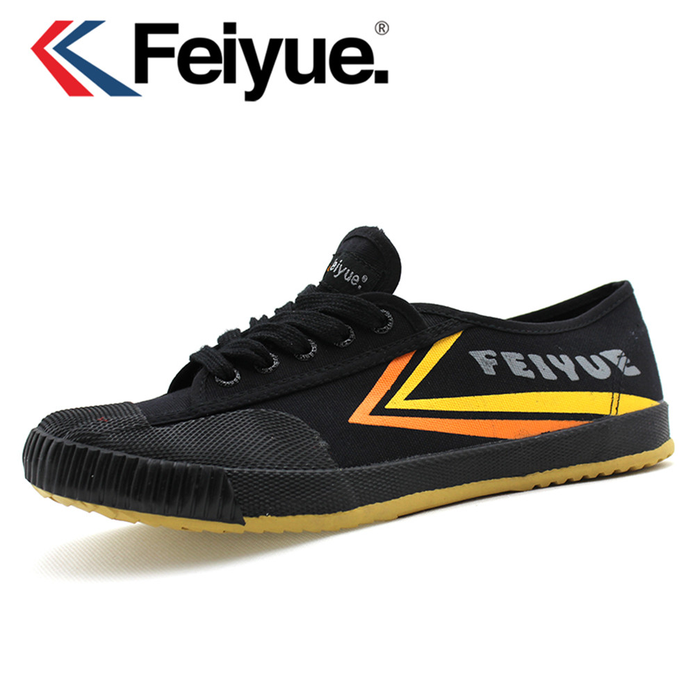 Feiyue shoes black shoes Felo one Kungfu Martial arts Black men women shoes