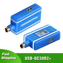 Latest Vesion Isolation Type USB-QC30R2 For MELSEC Q Series PLC Programming Cable Protable packing amsamotion upgraded usb qc30r2 communication cable apply to mitsubishi q series plc programming cable download line