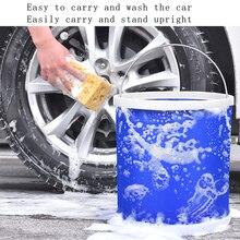 Waterproof Folding Bucket Is Convenient Environmentally Friendly Wear folding bucket Resistant kamp malzemeleri