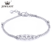 JDX Pt950 pure gold bracelet real platinum pure gold chain  simple high-end fashion classic high jewelry hot new products 2020
