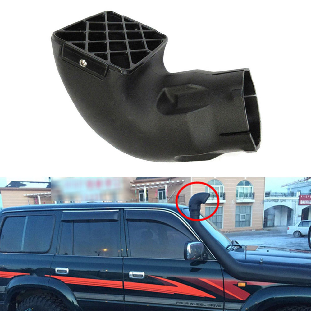 "4x4 Air Intake Snorkel Head Square Mushroom Head 3/"" Replacement Universal Fit"