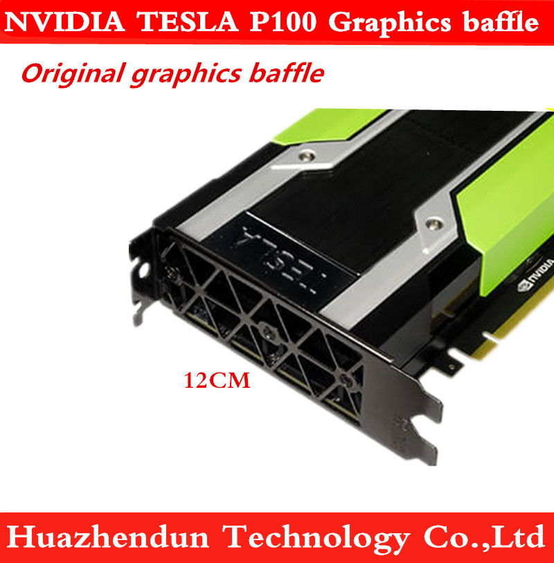 New NVidia Tesla P100 Graphics Baffle 820178-001 PK3RJ Original Blank Bracket 100pcs Free Shipping