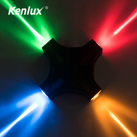 Kenlux 12W 알루미늄 방수 옥외 Led 벽 점화 실내 포치 LED 벽 램프 에너지 절약 WW/WH 정원 옥외 빛|실외용 벽전등|등 & 조명 -