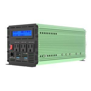 Image 4 - เครื่องแปลงกระแสไฟฟ้า EDECOA อินเวอร์เตอร์ DC 12 V AC 110 V 120 V 1000W 60Hz อินเวอร์เตอร์ PURE sine WAVE US ปลั๊กรีโมทคอนโทรลจอแสดงผลพอร์ต USB