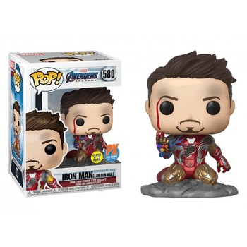 Funko POP Marvel The Avengers Iron Man 580# ACTION TOY FIGURES Vinyl Doll I AM IRON MAN Special Edition Model CollectibleToys