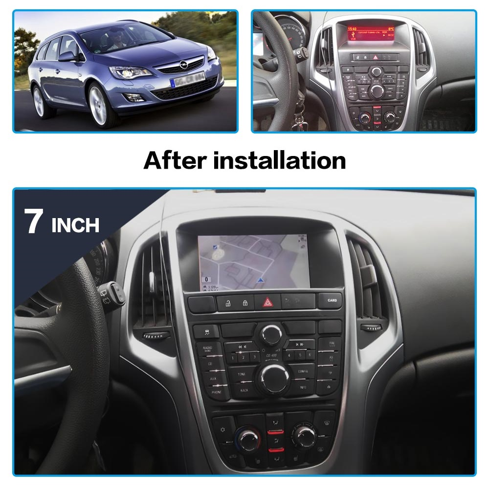 AOTSR 2 Din Car Radio For OPEL Astra J Multimedia Android Player Auto Stereo GPS Navigation DSP AutoRadio Bluetooth 7