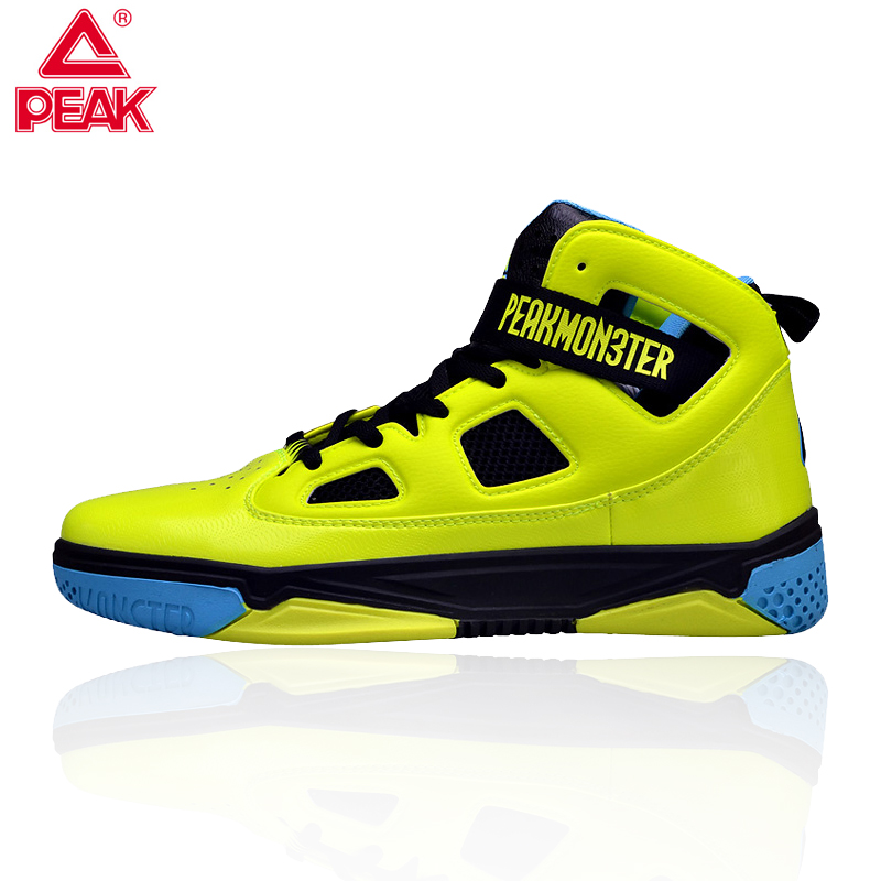 PEAK Professional Men Basketball Shoes More Stability Monster IV Street Basketball Culture Sports Outdoor Sneakers Size 40-45