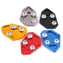 Car Foot Side Stand Extension Pad Support Plate Motorbike Side Stand Accessories for BMW K1200S K1300