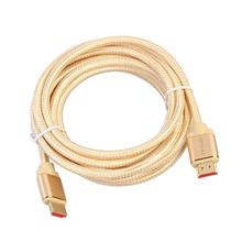 HDMI Cable HDMI to HDMI Cable 5m HDMI 2.0 Cable Adapter 4K 3D 1080P for Apple TV Nintendo Switch LCD PS3 PS4 projector PC(China)