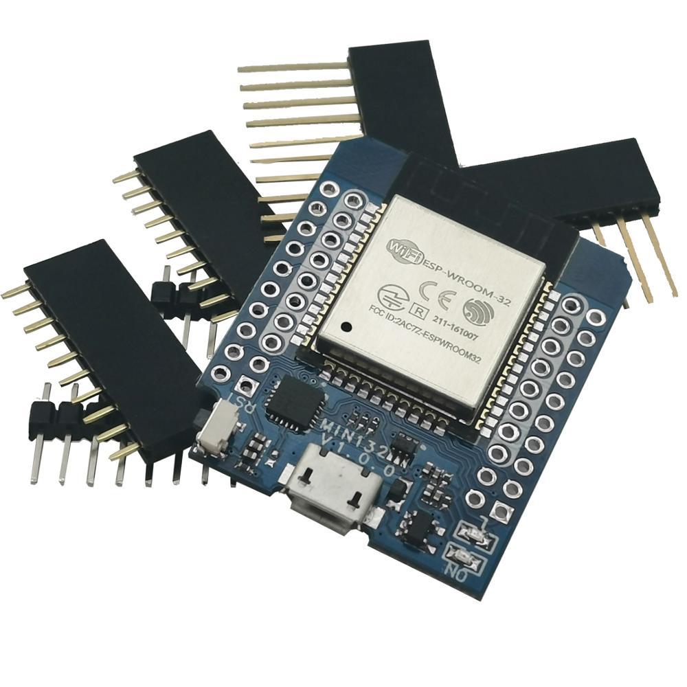 D1 Mini ESP32 ESP-32 WiFi+Bluetooth Internet Of Things Development Board Based ESP8266 Fully Functional