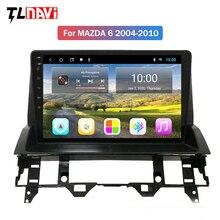 2G RAM 10.1 pollici full touch Android 10 HD schermo navigazione gps per auto lettore radio multimediale per Mazda 6 2002-2008