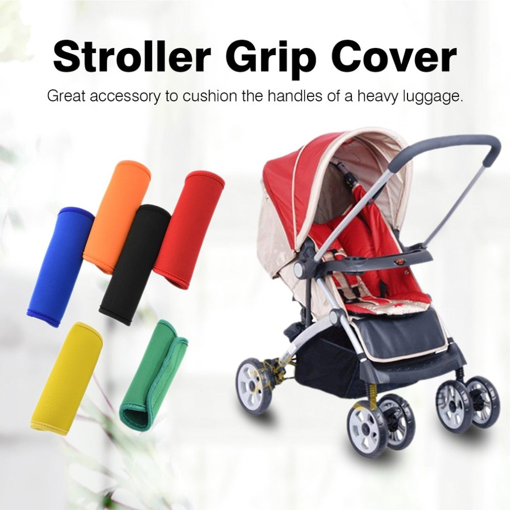 New Comfortable Neoprene Luggage Handle Wrap Grip Soft Identifier Stroller Grip Protective Cover For Travel Bag Luggage Suitcase