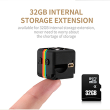 BORUIT SQ11 Mini Camera HD 1080P Sensor Night Vision Camcorder Motion DVR Micro Camera Sport DV Video small Camera cam SQ 11