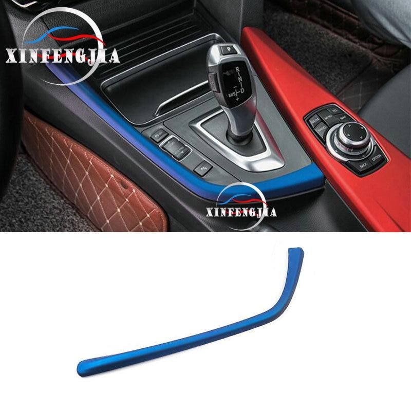 2x Chrome interior decorator Seat Net Trim Cover For BMW 1 2 3 3GT 4 Series F30