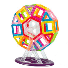 46pcs Mini Size Magnetic Building Blocks Magnetic Designer Construction Set Ferris Wheel Model Constructor Toys For Kids Gif(China)