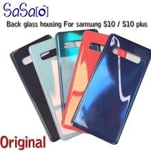 """Bộ 10 Kính Cường Lực Mặt Sau Thay Thế Dành Cho Samsung Galaxy Samsung Galaxy S10 Plus S10E S10 + 6.4 """"6.1"""" 5G Pin bao Da Phía Sau Cửa Nhà Ở Lưng"""