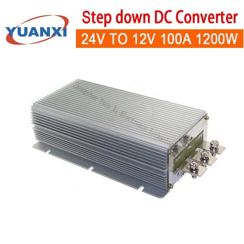 1200W Step Down DC Converter 24V TO 12V 100A 1200W Dc Dc Converter