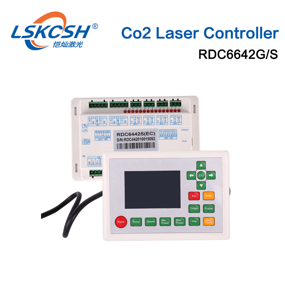 LSKCSH Ruida RD6442S RDC6442G Co2 Laser DSP Controller for Co2 Laser Engraving Cutting Machine Professional laser