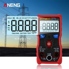 4000 LCD Display Automatic Multimeter Teater Professional Digital Multimeters V03A Test Stick Voltage Measurement Small Portabl