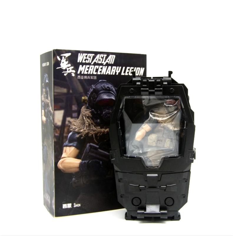 Oyuncaklar ve Hobi Ürünleri'ten Aksiyon ve Oyuncak Figürleri'de Sevinç oyuncak 1/18 aksiyon figürü askerler (3 adet/grup) batı asya paralı LEGION modeli bebek ücretsiz kargo RD18070'da  Grup 2
