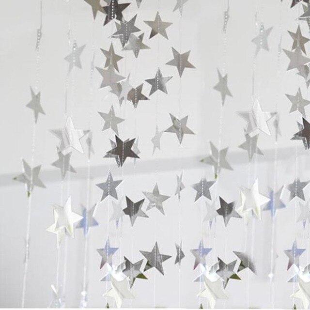 10cm star silver