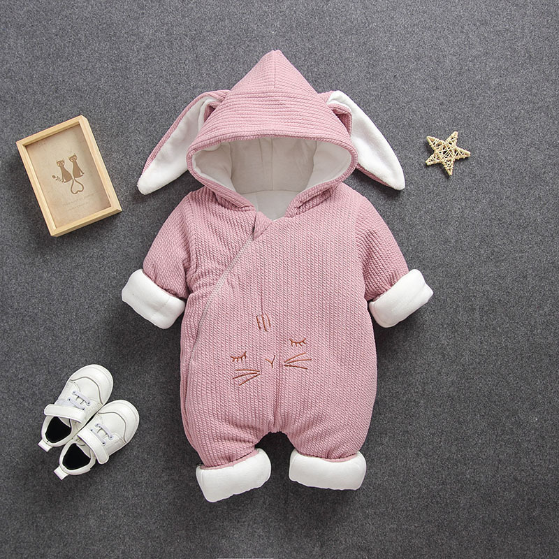 H322dd337c02844b58191c8a75f3351dbL 2019 New Russia Baby costume rompers Clothes cold Winter Boy Girl Garment Thicken Warm Comfortable Pure Cotton coat jacket kids