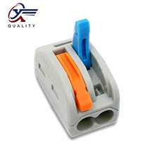 30/50/100 PCS/lot PCT-212 color  222-212 mini fast wire Connectors Universal Compact Wiring Connector push-in Terminal Block 30 50 100 pcs lot pct 214 color 222 214 mini fast wire connectors universal compact wiring connector push in terminal block