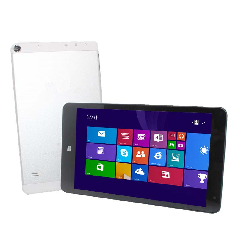 8 pouces ME Windows 8.1 tablette PC 1280x800 IPS écran tactile Quad Core 1 + 16GB double caméras Z3735F HDMI 32 bits pour l'apprentissage