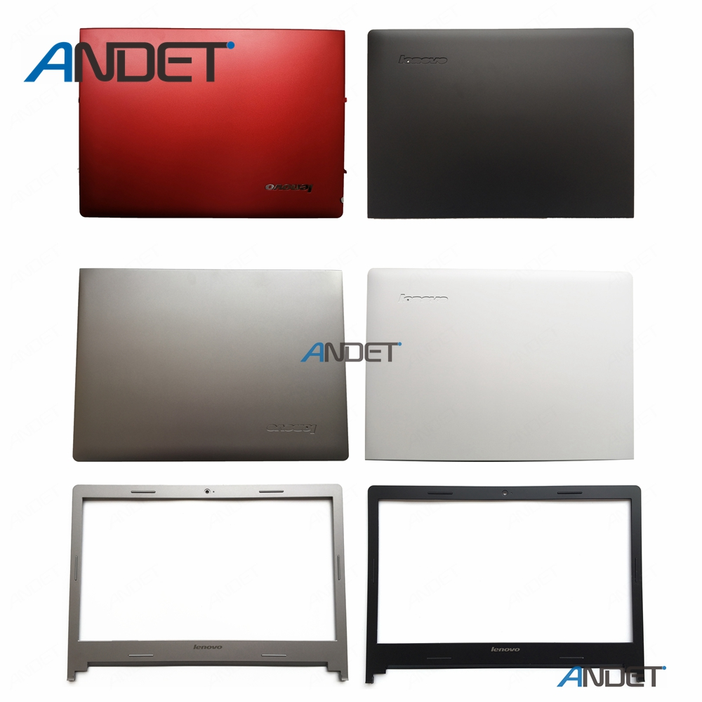 New Original for Lenovo IdeaPad S400 S405 S410 S415 S435 S400u S40 70 M40 35 LCD Rear Lid Cover + Front Bezel Case No Touch|s400 lenovo|lenovo 15|cover lenovo s400 - title=