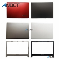 New Original for Lenovo IdeaPad S400 S405 S410 S415 S435 S400u S40 70 M40 35 LCD Rear Lid Cover + Front Bezel Case No Touch