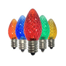 25 шт 120v c7 светодиодный Замена Рождественский светильник