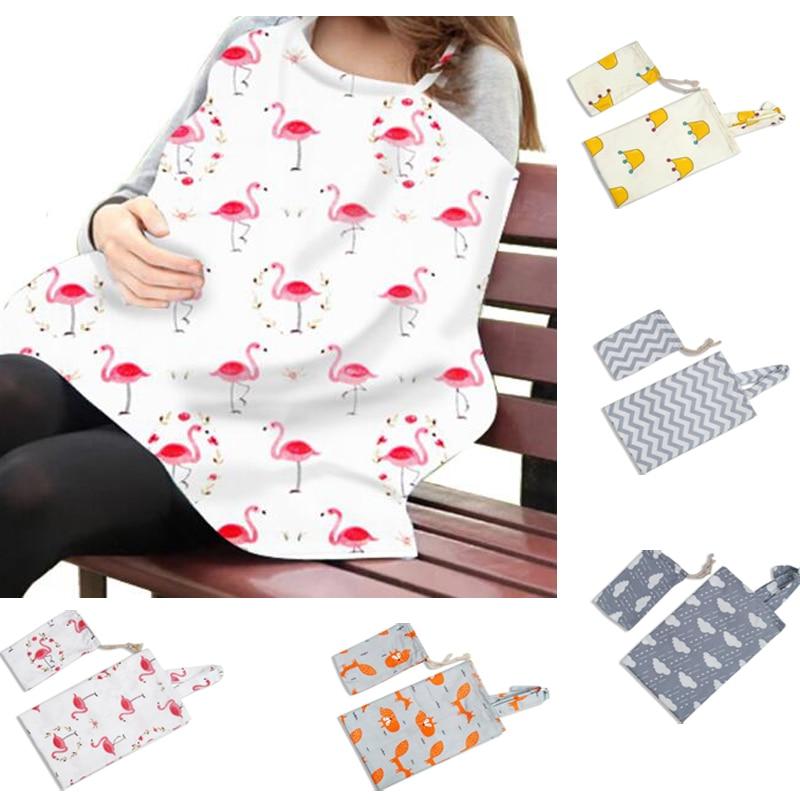 Cotton Breastfeeding Cover Feeding Baby Nursing Apron Women Mum Shawl Clothes Cotton Blanket Cloth Mommy Apron