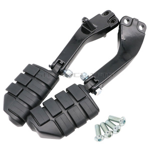 Image 5 - Passenger Footpegs Foot Peg Mounting Brackets Mounts Case For Harley Dyna Glide EFI FXDF FXDL FXDB FXDC FXD FLD FXDWG