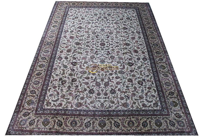Silk Persian Rug Oriental Rugs Handwoven Carpets For Living Room Pattern  St-02025a260l