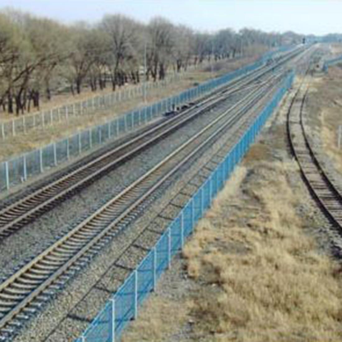 1:87 HO Scale Train Model Construction Scene Sand Table Railway Fence