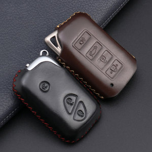 Image 2 - 4 Button Key Fob Cover Case For Lexus ES350 GS350 GS450h IS250 RC350 NX200T NX300h LX570 Car Remote Holder Protector