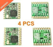 Darmowa wysyłka 4 sztuk RFM95 RFM95W 868 915 RFM95-868MHz RFM95-915MHz LORA SX1276 bezprzewodowy moduł aparatu nadawczo-odbiorczego FCC ROHS europejski instytut norm telekomunikacyjnych (ETSI) dotrzeć do