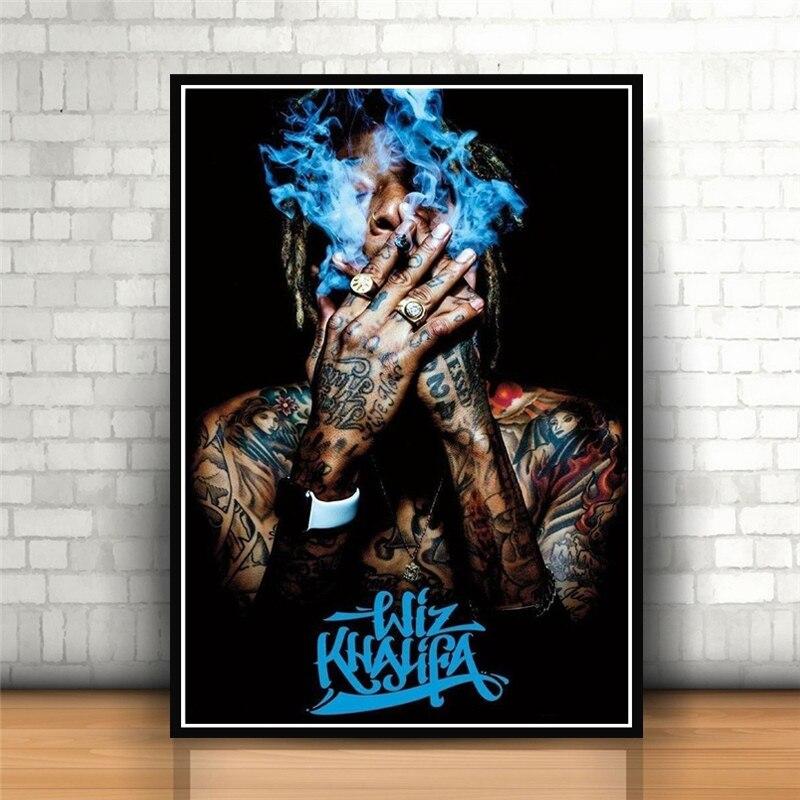 B-897 XXXTentacion Rap Hip Hop Music Star Rapper Singer 36 27x40 Fabric Poster