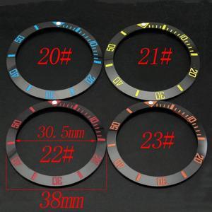 Image 2 - Accesorios de reloj 38mm bisel ajuste GMT automático 40mm hombres reloj bisel ajuste relojes parnis