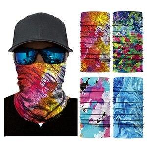 Уличная спортивная велосипедная бандана, многофункциональная повязка на голову, безшовная маска для езды на велосипеде на открытом воздухе, шарф для мужчин и женщин, для кемпинга, пешего туризма