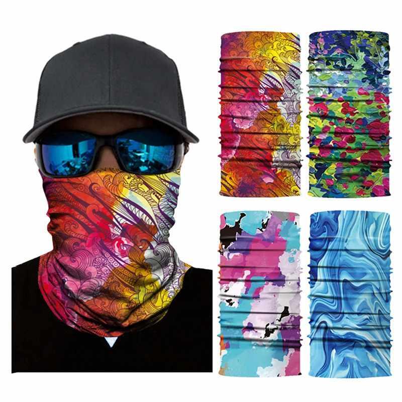 Bandana tiara multifuncional esportiva, para atividades ao ar livre, ciclismo, máscara, masculino e feminino, camping, trilhas