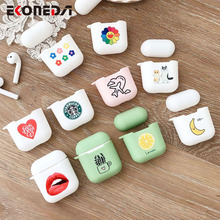 EKONEDA Candy Colors Cartoon Cute Case For Airpods Case Silicone Soft TPU Protective Shell Cover For Airpod 2 Case