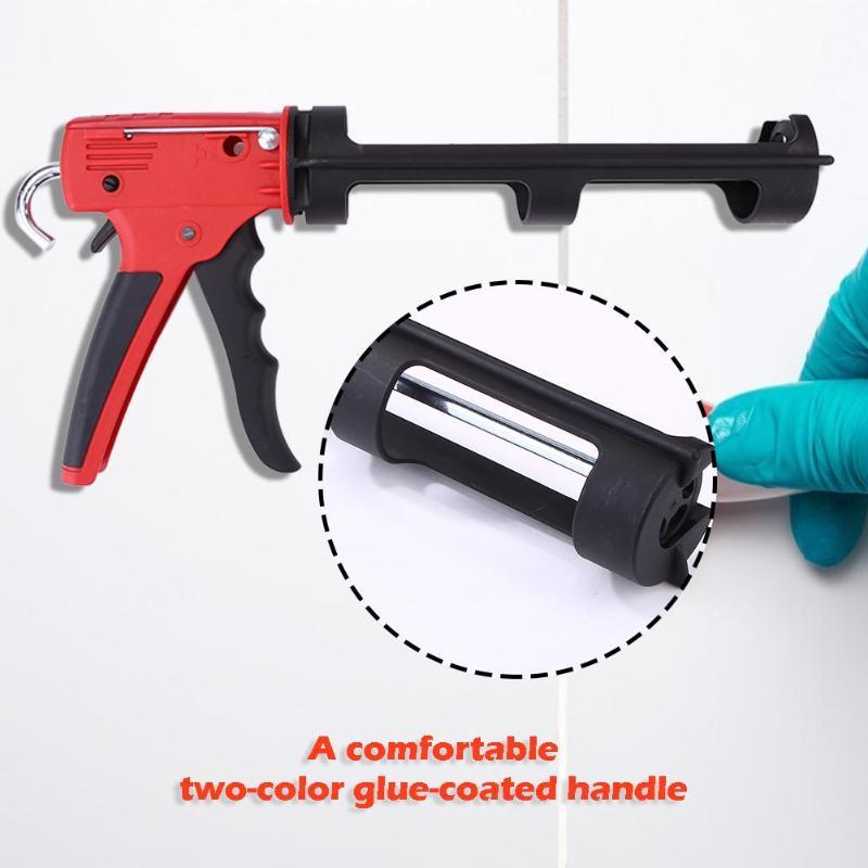 Pistola per silicone Solido e la Resistenza Alla Compressione di Sicurezza Colla di Vetro di Tenuta Pistole Sigillante Pistola di Colla Dispenser Vernice Strumento