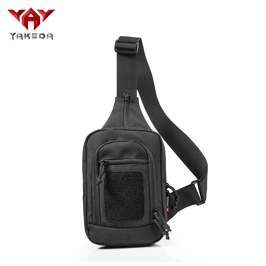 Yakeda Chest Bag Sports Bag Shoulder Bag Tactical Shoulder Bag Outdoor Camouflage Backpack Army Fans Equipment