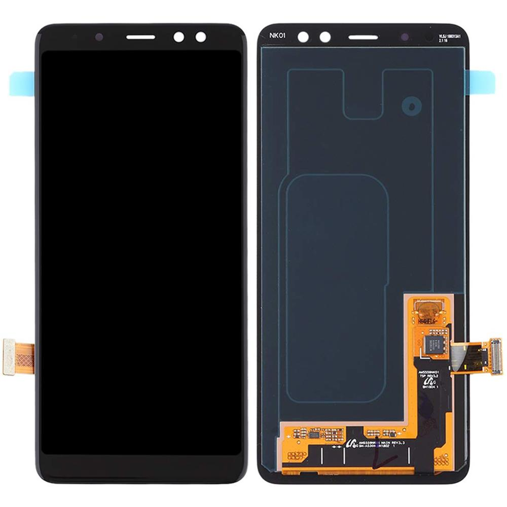 AAA LCD For Samsung Galaxy <font><b>A8</b></font> 2018 A530 A530F A530DS A530N LCD <font><b>Display</b></font> Touch Screen Digitizer Assembly + Tools image