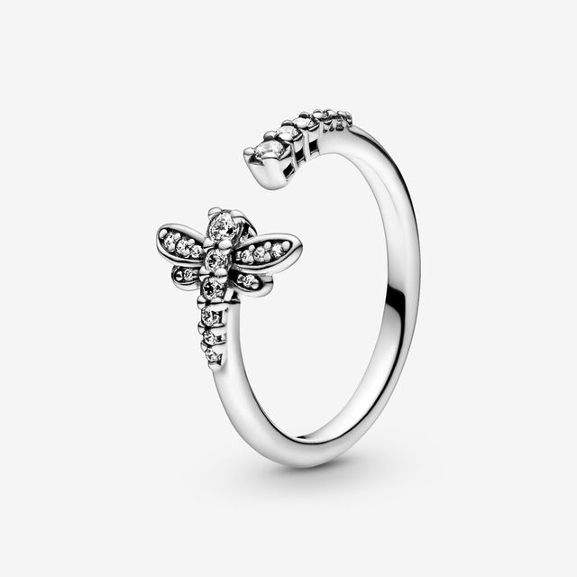 Authentic 925 Sterling Silver Princess Tiara Crown Sparkling Love Heart ,CZ Rings for Women Engagement Jewelry Anniversary 5
