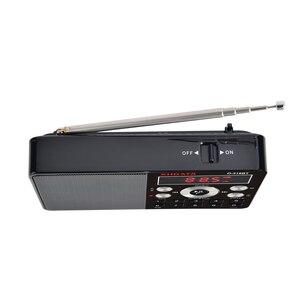 Image 5 - XHDATA D 318 BT FM ستيريو راديو صغير متعدد الوظائف راديو محمول استقبال دعم المكالمات الهاتفية اللاسلكية A B راديو بلوتوث