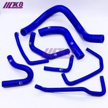 De silicona de la manguera del radiador para Mazda mx-5 nb 1800cc 1998-2004 rojo/azul/negro 8 Uds